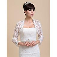 Personalized Half Sleeve Lace Wedding/Party Wraps(More Colors) Bolero Shrug