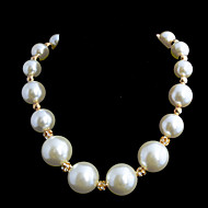 Ladies'/Women's Imitation Pearl NecklaceAnniversary/Wedding/Engagement/Birthday/Gift/Party/Daily/Special Occasion/Causal/Office &