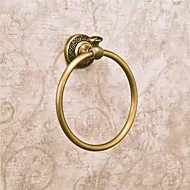 Antique Bronze Finish Solid Brass Towel Ring