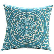 """18 """"Exotic geometriskt mönster Bomull / Lin dekorationskudde Cover"""