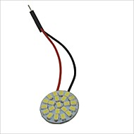 Belastninger ™ T10 / ba9s / Festoon 1210-22SMD Car Round Dome Lamp White Light (12V/Piece)