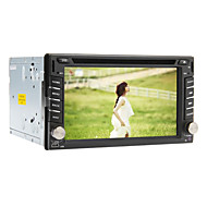 6,2 polegadas Android 4.1 2Din no painel do carro DVD Player com GPS, 3G, Wi-Fi, o iPod, RDS, BT, TV, Multi-Touch Capacitiva