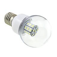 E26/E27 4 W 27 SMD 5730 500 LM Cool White G60 Globe Bulbs DC 12 / AC 12 / AC 24 / DC 24 V