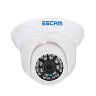 ESCAM Caracol QD500 H.264 Dual Stream 3.6MM Dia / Noite impermeável Câmera Dome IP e suporte Detecção móvel