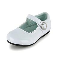 Jenter Bryllup sko Komfort/Mary Jane Flate sko Bryllup/Formell/Fritid/Fest/aften Svart/Blå/Gul/Rosa/Rød/Hvit