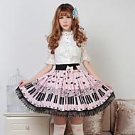 Key Lolita assez rose et chat Princesse Kawaii belle jupe Cosplay