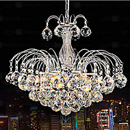 Pendant Luxury Modern Crystal Living 3 Lights