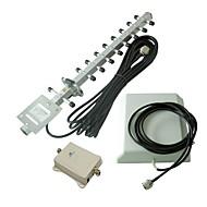 70dBi 2100MHz Mobiltelefon Signalforstærker / repeater / forstærker 3G Home Use