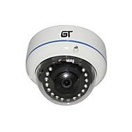 GT VISTA Full HD 1920 * 1080P 2.0Megapixel P2P Onvif IR-Cut Seguridad impermeabilizan la mini cámara domo IP