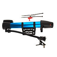 Bike Blue Mini Portable High-Pressure Aluminum Alloy Pump Basketball Between Household Mountain Air