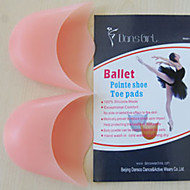 silicone toe ballet pad