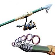 Carbon Green Sea Fishing Medium Light  Fishing Rod