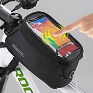 ROSWHEEL Fahrradtasche 1.5LHandy-Tasche Fahrradrahmentasche Fahrrad-Sattel-Beutel Wasserdicht Wasserdichter Verschluß TouchscreenTasche