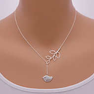 Necklace Pendant Necklaces Jewelry Party / Daily / Casual Fashion Alloy Silver 1pc Gift