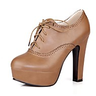 Women's Shoes Chunky Heel Round Toe Oxfords Dress Shoes More Colors available