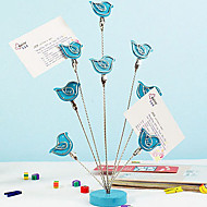 Elegantní malé ptáky design Memo klipy