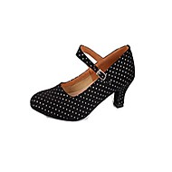 Women's Leatherette Ankle Strap Modern Dance Shoes