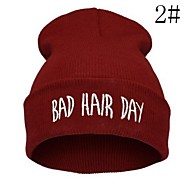 Unisex's Hiphop Bad Hair Day Beanie Hat