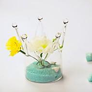 centres de table couronne vase en verre deocrations de table (non inclus fleurs, du sable non inclus)