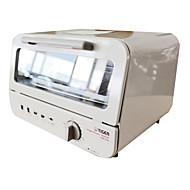 "Classic Cube Shape Mini Oven, rustfritt stål 13,4 ""x12"" x10 """