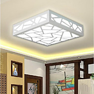 12 Flush Mount ,  Modern/Contemporary Traditional/Classic Painting Feature for LED Wood/BambooLiving Room Bedroom Dining Room Study