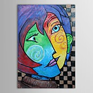 Hand Painted Oil Painting Museum Masters Paintings  Pablo Picasso Kiss Painting  Reproduction with Stretched Frame