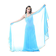 Belly Dance Stage Props Women's Performance Chiffon 1 PieceApple Green / Black / Dark Green / Fuchsia / Light Blue / Orange / Pink /