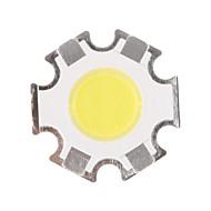 5W COB 450-500LM 6000-6500K מגניב אור הלבן שבב LED (15-17V, 300uA)