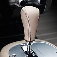 Xuji ™ Beige cuero auténtico cambio de engranaje de la cubierta Perilla para Nissan Murano 2011 2012 2013 automático