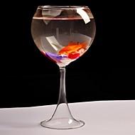 centres de table en verre gobelet deocrations de table du réservoir (poissons ne inclouded)