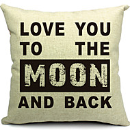 Cotton/Linen Pillow Cover , Quotes & Sayings Modern/Contemporary