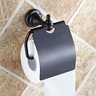מחזיק נייר טואלט ברונזה עם שמן גומי התקנה על הקיר 140 x 134 x 66mm (5.51 x5.27 x 2.59inch) פליז ענתיקה