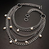 Ladies'/Women's Alloy Necklace Gift/Party/Causal/Office & Career/Outdoor Pearl