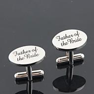 Родители Дары Пьеса / Установить Запонки и булавки для галстука Классика Творчество Свадьба Годовщина Персонализированные неЗапонки и