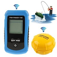 NEW Wireless Portable Fish Finder Depth Sonar Sounder Alarm Transducer Fishfinder Retail Boxing