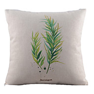frais coton à deux battants / lin taie d'oreiller décoratif