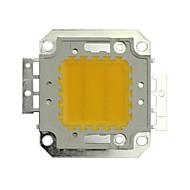 JIAWEN® 20W 1600-1800LM 3000K Warm White LED Chip (DC 30-33V)