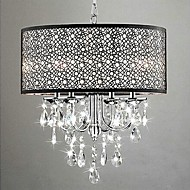 MAX:60W Chandelier ,  Traditional/Classic Chrome Feature for Crystal Metal Bedroom / Dining Room / Study Room/Office / Hallway