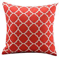 vermelho algodão / linho cobertura tradicional chinesa almofadas decorativas