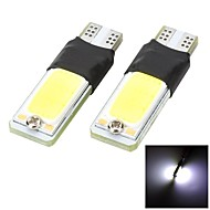 Marsing® T10 De-coded 5W COB 400lm 6500K Cool White Universal Car LED Width Bulbs(2PCS)