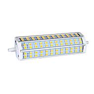 R7S 15ワット72×5050 950lm 3000K暖かい白色光(AC85-265V)トウモロコシの電球を導いた