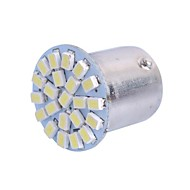 1156 2W 6000K 120LM 22x3020 SMD White LED for Car Steering Light / Backup / Brake Light (DC12-24V, 1Pcs)