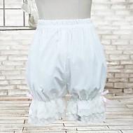 White Cotton Classic Lolita Bloomers