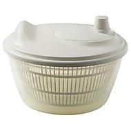 Salad Spinner White Polypropylene Plastic,23X23X14CM