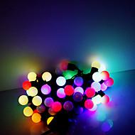 5M 50 LEDs Christmas Halloween decorative lights festive strip lights-RGB lamp beads (220V)