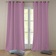 Moderní jednom panelu pevná růžový obývací pokoj polyester zatemňovací závěsy závěsy