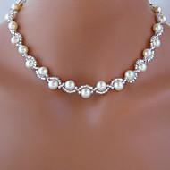 Shixin® Classic Beautiful Wedding White Pearl Necklace(1 Pc)