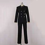 una pieza sanji traje negro traje de cosplay