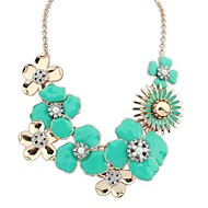 Women's Alloy Necklace Party/Daily Rhinestone