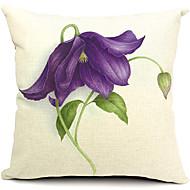 elegant blomma bomull / linne dekorativa örngott